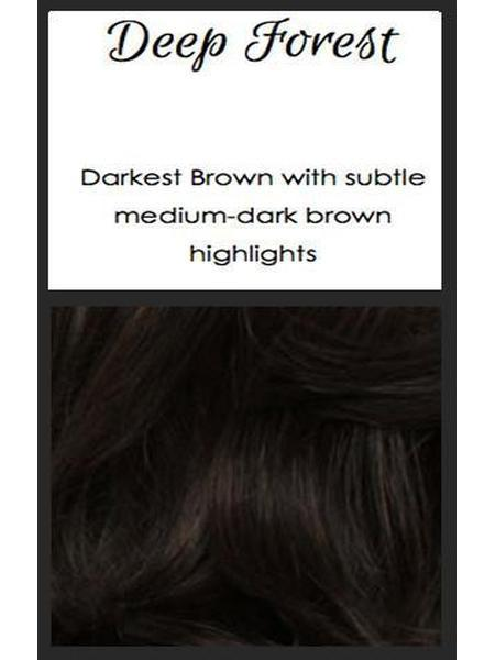 Deep Forest: Darkest brown with subtle medium-dark brown highlights