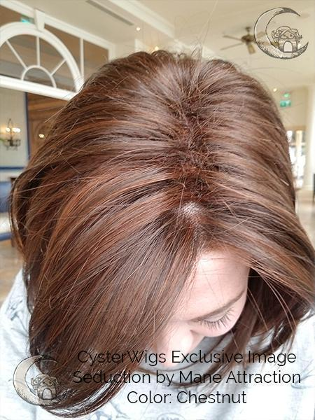 Seduction by Mane Attraction in Color: Chestnut