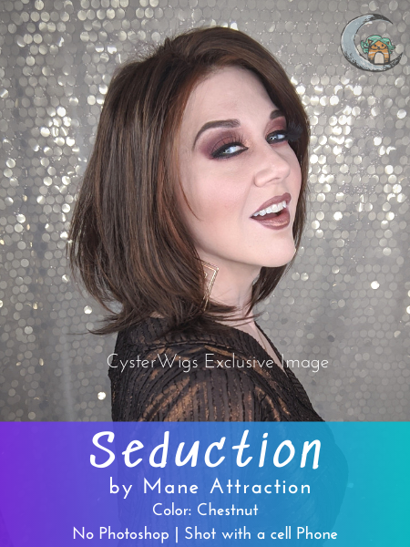 Seduction by Mane Attraction, Color: Espresso -- BEST DEAL!