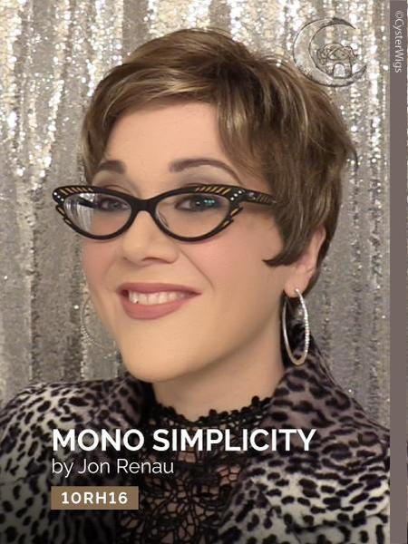 Simplicity Mono by Jon Renau, Color: 10RH16 (Almondine)