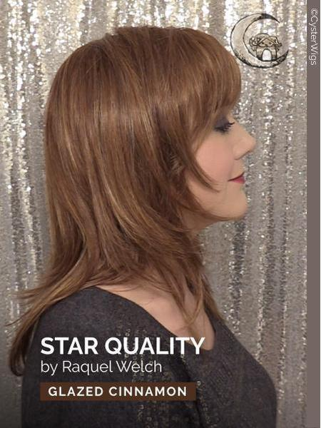 Star Quality by Raquel Welch, Color: R829S+ (Glazed Hazelnut)