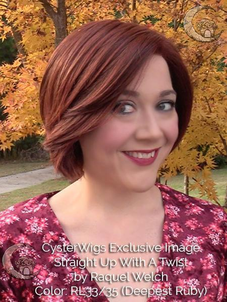 Straight Up With a Twist by Raquel Welch, Color: RL12/22SS (Shaded Cappuccino)