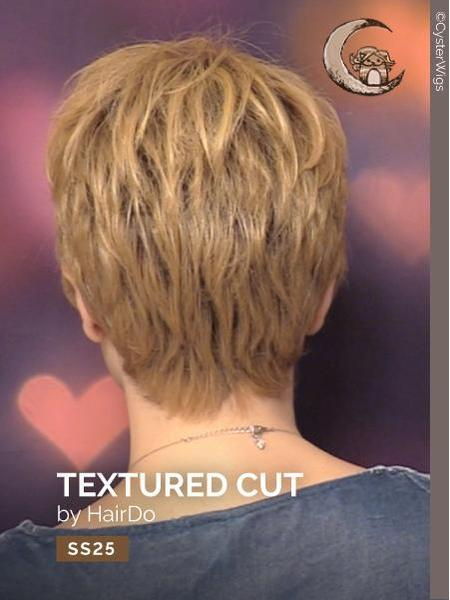 Textured Cut by HairDo, Color: SS25 (Shaded Ginger Blonde)
