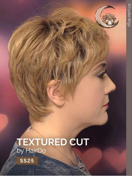 Textured Cut by HairDo, Color: R829S+ (Glazed Hazelnut)