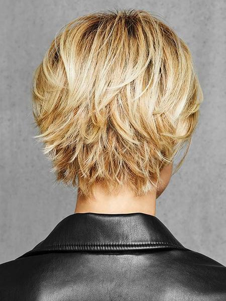 Textured Fringe Bob by HairDo, Color: SS25 (Shaded Ginger Blonde)