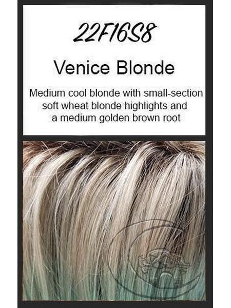 Top Notch by EasiHair, Color: 22F16S8 (Venice Blonde)