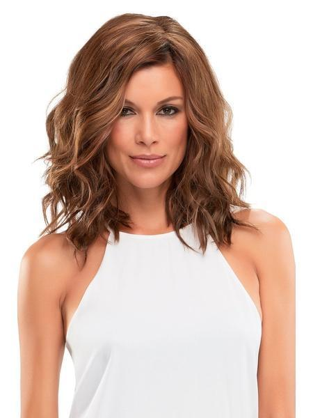 "Top Wave 12"" Topper by Jon Renau, Color: 14/26S10 (Shaded Pralines & Cream)"