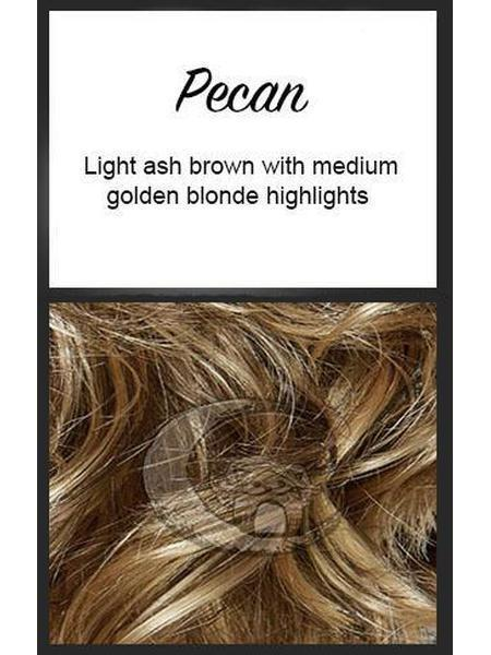 Vixen by Mane Attraction, Color: Pecan
