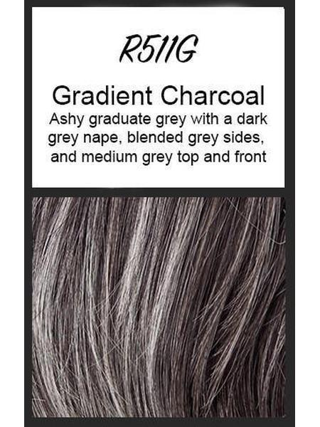 Winner Elite by Raquel Welch, Color: R511G (Gradient Charcoal)