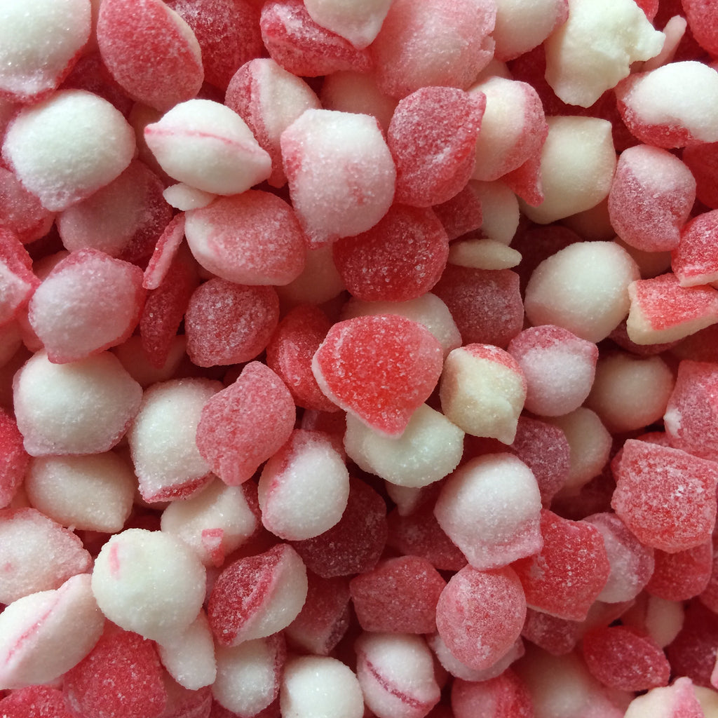 Strawberry & Cream Pips - Burford Sweet Shop