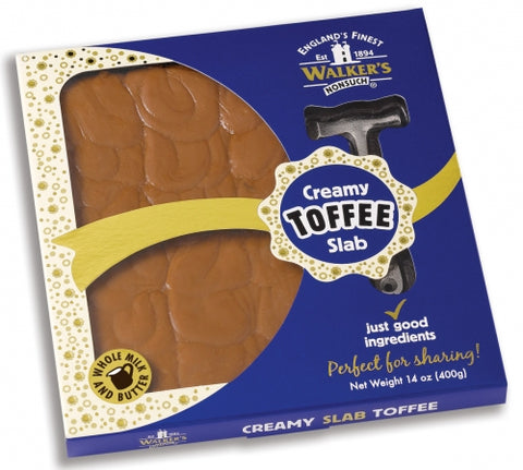 Walkers Dairy Toffee Slab With Hammer
