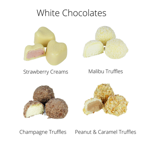 Handmade White Chocolates