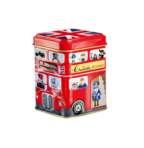 Mini London Bus Tin