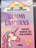 Make Your Own Gummy Unicorns