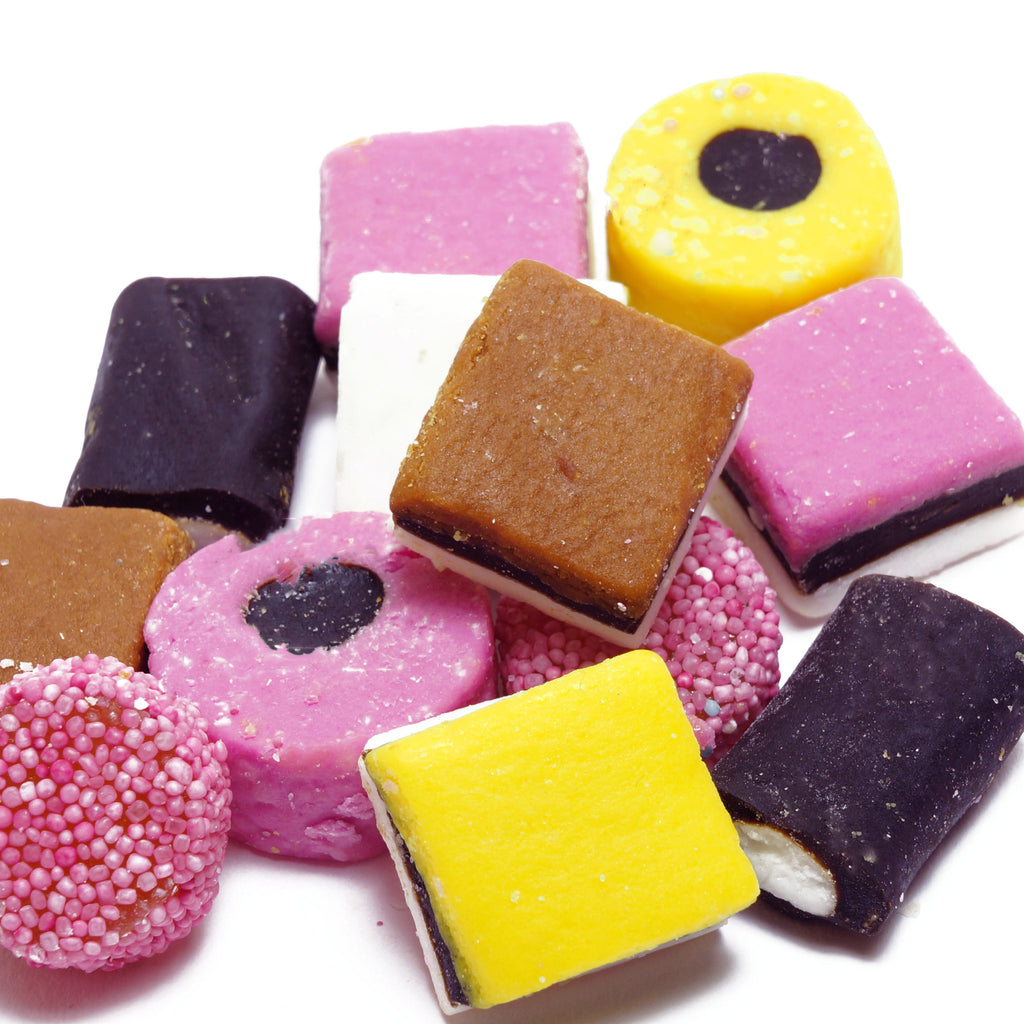 Liquorice Allsorts - Burford Sweet Shop