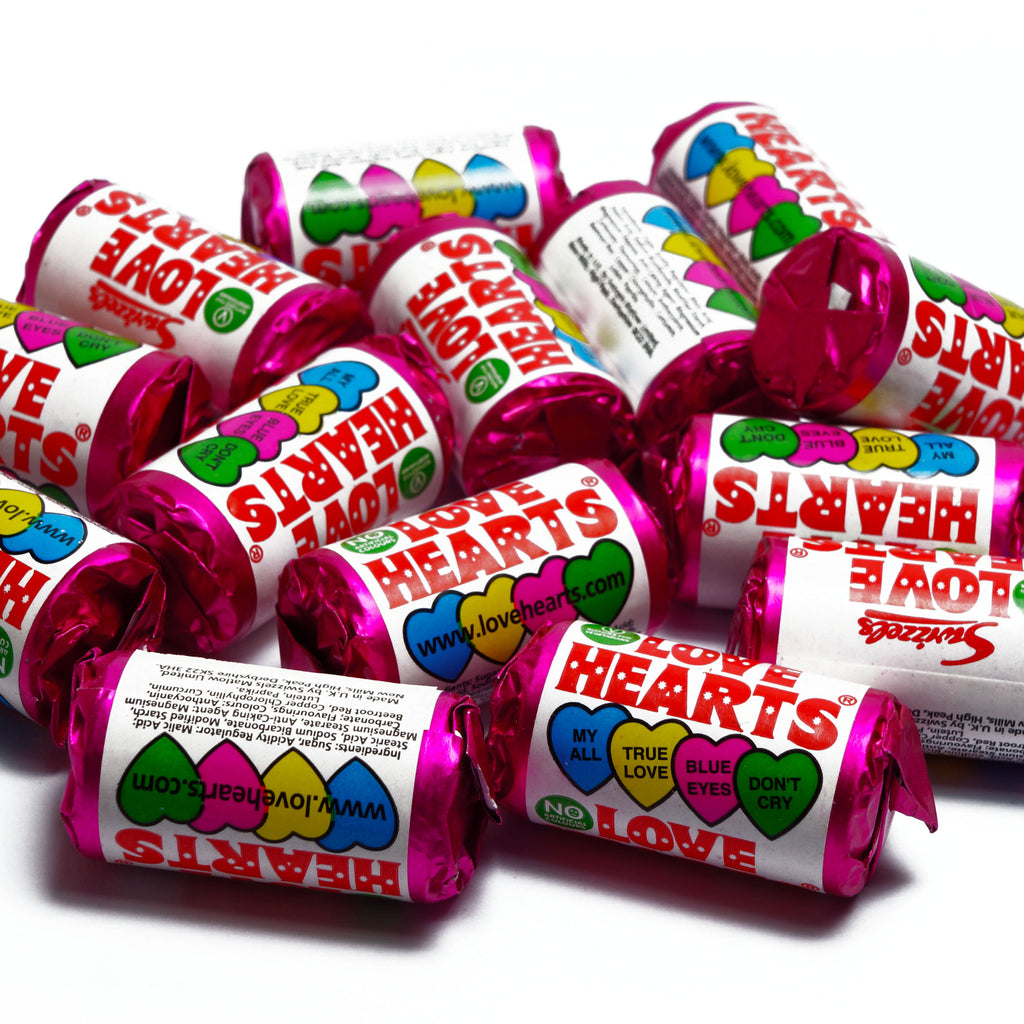 Love Hearts - Burford Sweet Shop