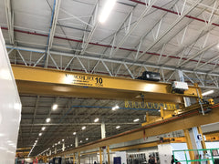 Overhead Industrial Crane Design, Installation, Service & Inspections at WiscoLift, Inc