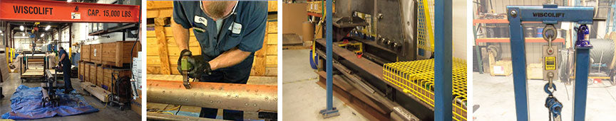 Nondestructive and Destructive Testing at WiscoLift, Inc.
