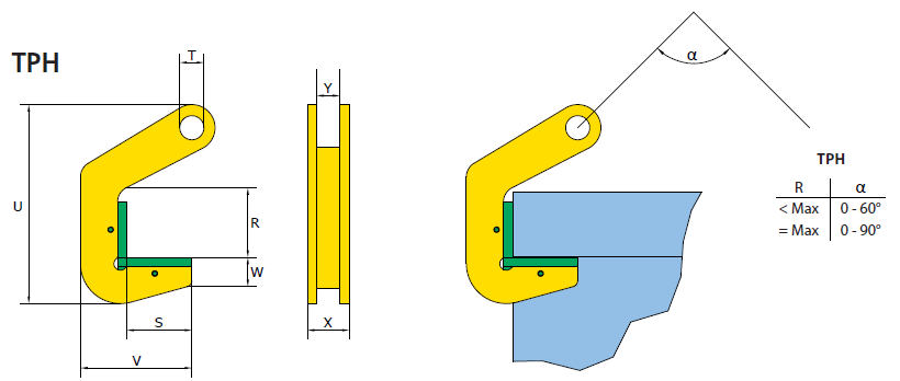 Terrier Plate Lifting Clamp  | Pipe Lifting Equipment