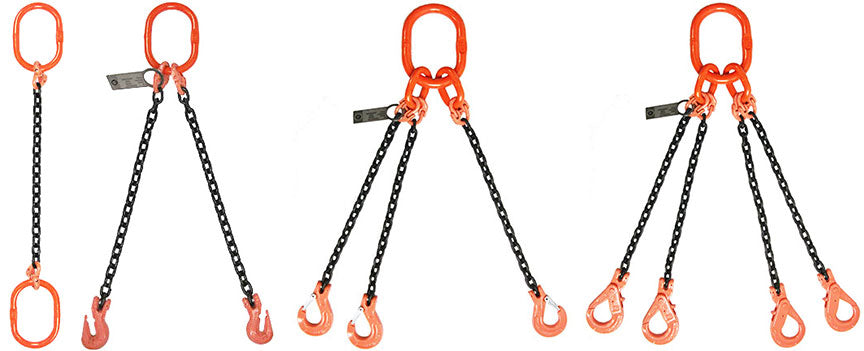 1-Leg, 2-Leg, 3-Leg, 4-Leg Chain Slings Dealers