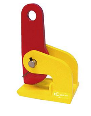 Terrier FHX-V Horizontal Plate Clamp, Capacity 2200-13,200 Lbs. Per Pair