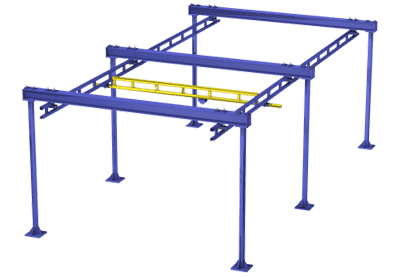 Overhead Crane Systems - Workstation Bridge Crane