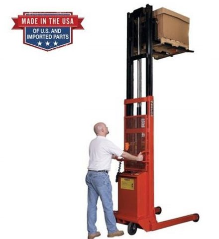 Straddle Stacker Industrial Equipment