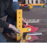Horizontal Plate Clamps - In Use