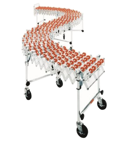 Accordian Expandable Roller Conveyor