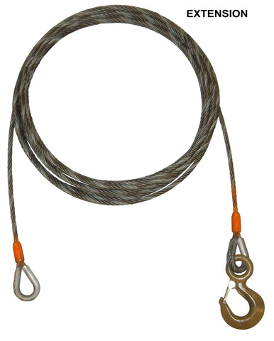 Wrecker Winch Cable Extension