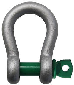 Van Beest Screw Pin Shackle, Capacities .33-55 tons