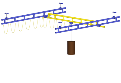 Overhead Workstation Crane