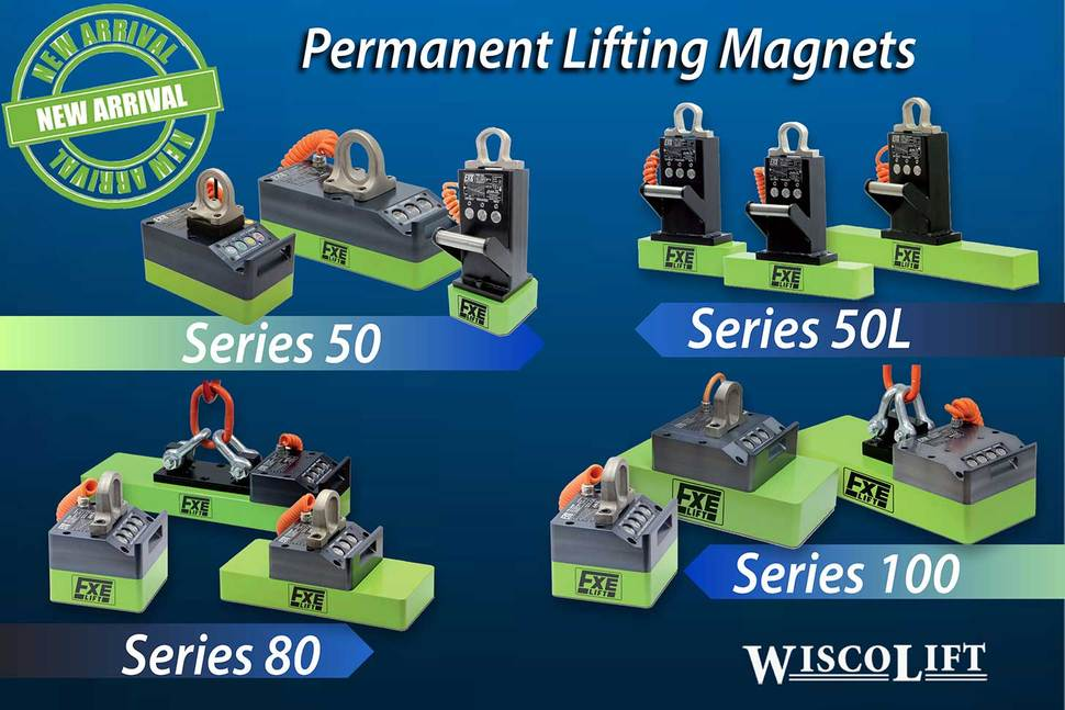 Permanent Lifting Magnets for Flat and Round Materials