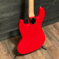 Nashville Guitar Works J-Style Red Maple Fretboard Electric Bass Guitar w/ Gig Bag