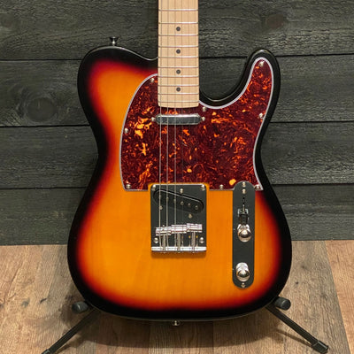 Nashville Guitar Works T-Style Sunburst Maple Fretboard Electric Guitar w/ Gig Bag