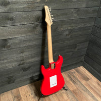 Nashville Guitar Works S-Style Red Maple Fretboard Electric Guitar w/ Gig Bag