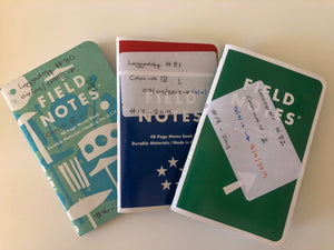 Notebooks on the road