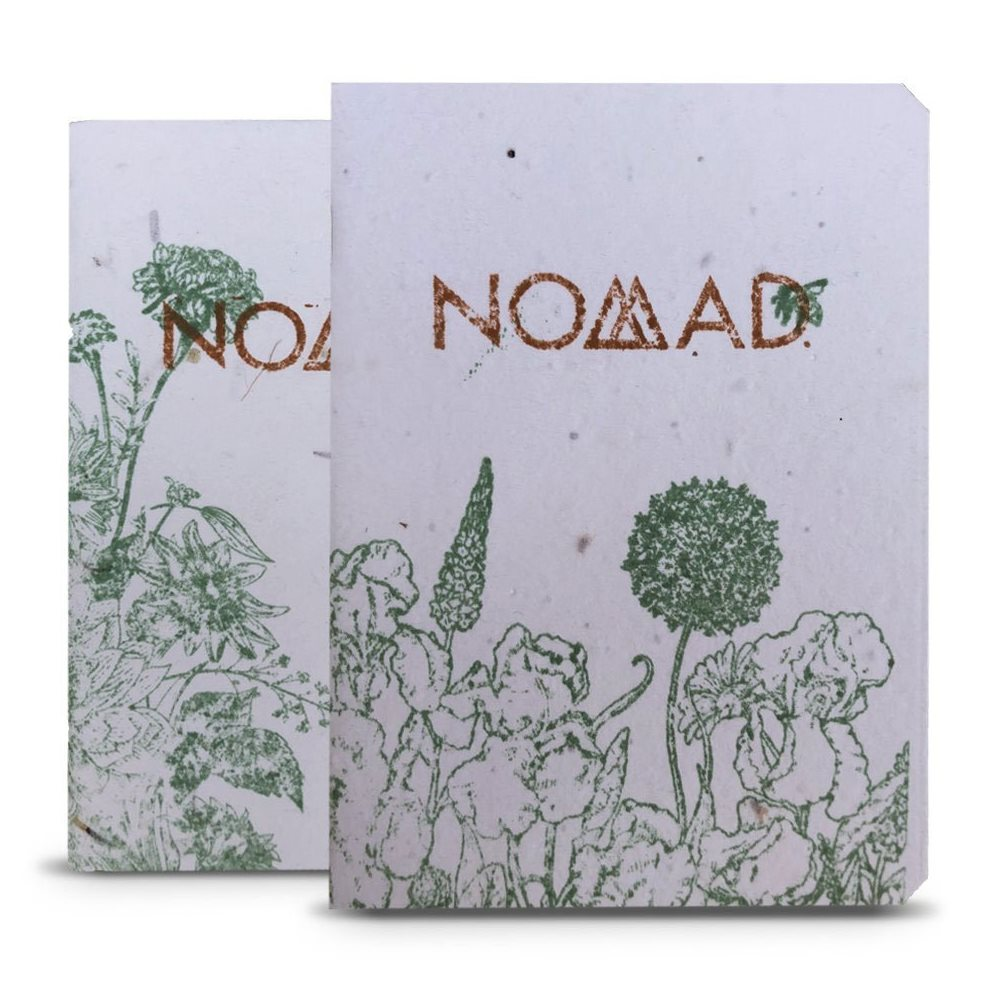 Nomad's Green Thumb notebook