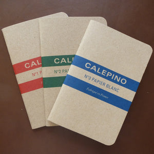 Calepino... mean, green writing machines