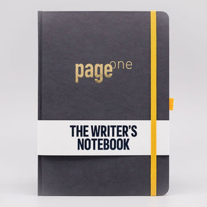 Page One - a notebook for writers