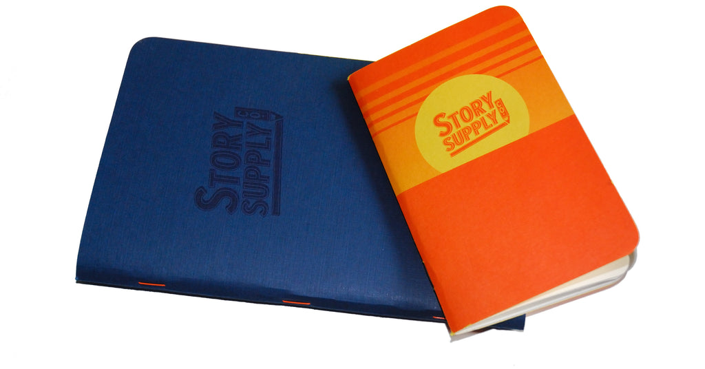 The story of Story Supply supplies, with orange staples