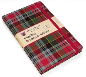 Waverley Tartan Cloth Commonplace Book
