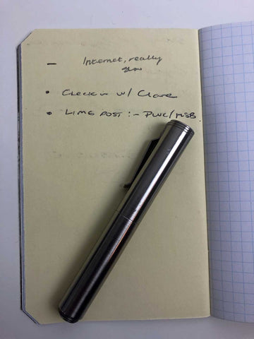 Pocket Notebook BuJo Extension