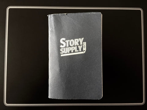 A photo of the standard Story Supply Co notebook