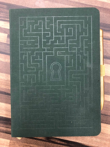 Baron Fig Lock and Key Notebook