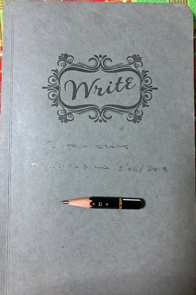 Write Content Journal and Pencil