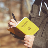 Word Notebooks - The Adventure Log - Yellow 2
