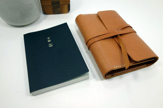 Leather Cover for an A6 Hobonichi Cover