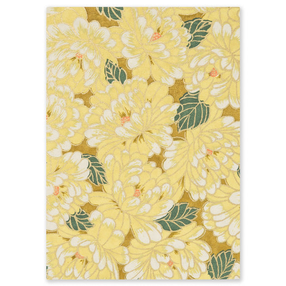 ESMIE Paperback Notebook Yellow Chrysanthemum