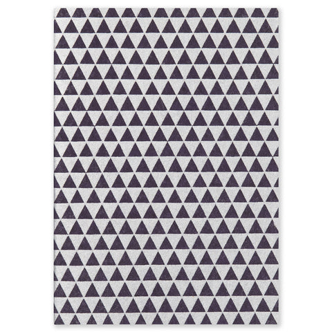ESMIE Paperback Notebook Black/Silver Pyramid